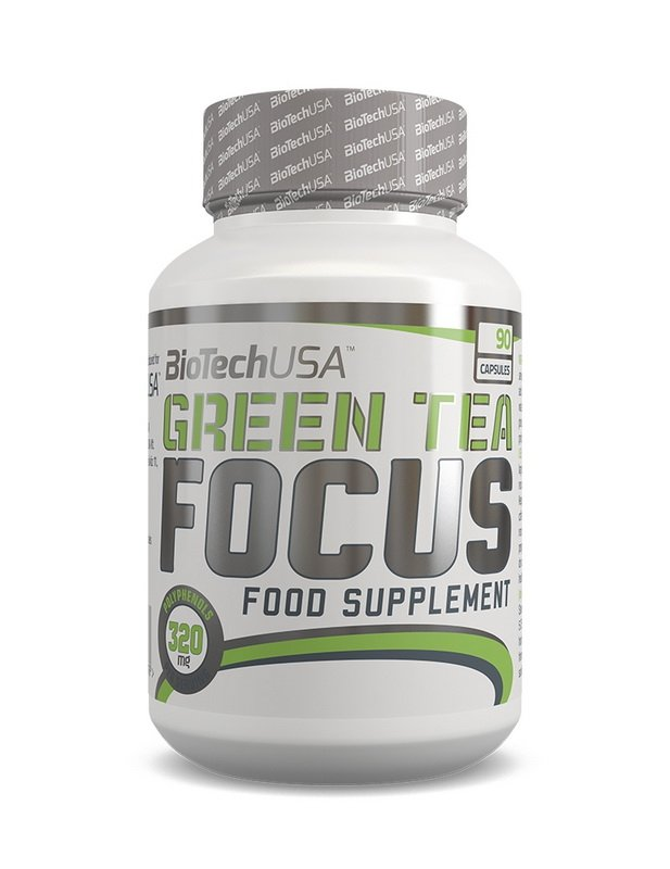 Green Tea Focus - Biotech USA 90 kaps.