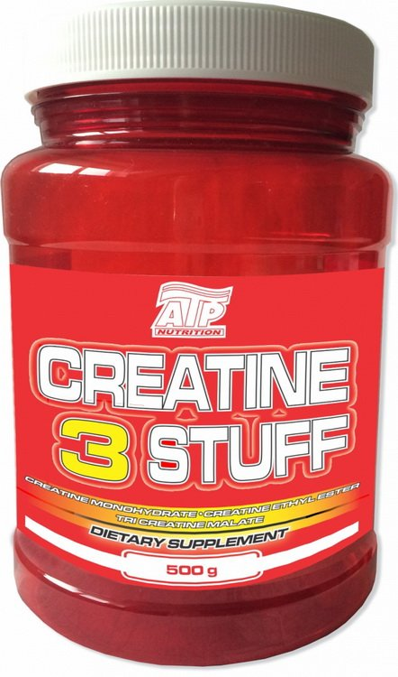 Creatine 3 Stuff - ATP Nutrition 500 g Citrón