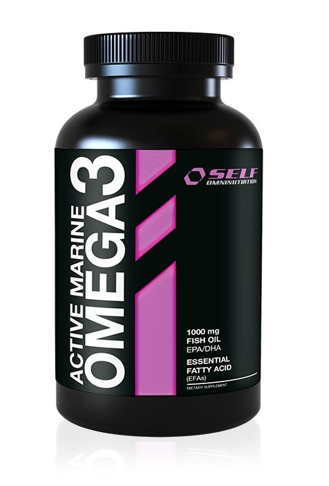 Active Marine Omega3 od Self OmniNutrition 120 kaps.