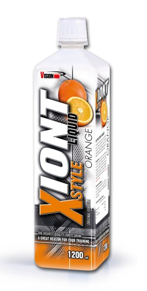 Xiont Style Liquid od Vision Nutrition 1200 ml. Blackcurrant