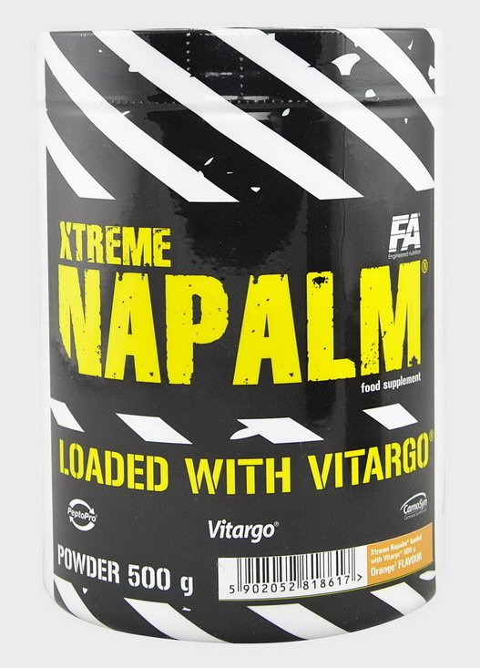 Xtreme Napalm loaded with Vitargo - Fitness Authority 1000 g PearApple