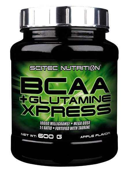 BCAAGlutamine Xpress od Scitec Nutrition 600 g Fruity Bubblegum