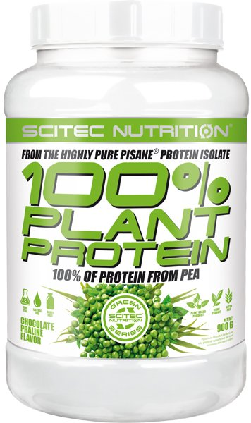 100 percent Plant Protein od Scitec Nutrition 900 g Chocolate Praline