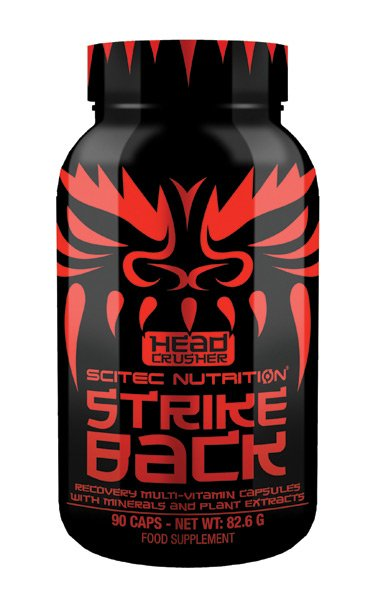 HC Strike Back od Scitec Nutrition 90 kaps.