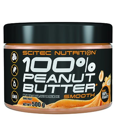 100 Peanut Butter Smooth od Scitec Nutrition 500 g