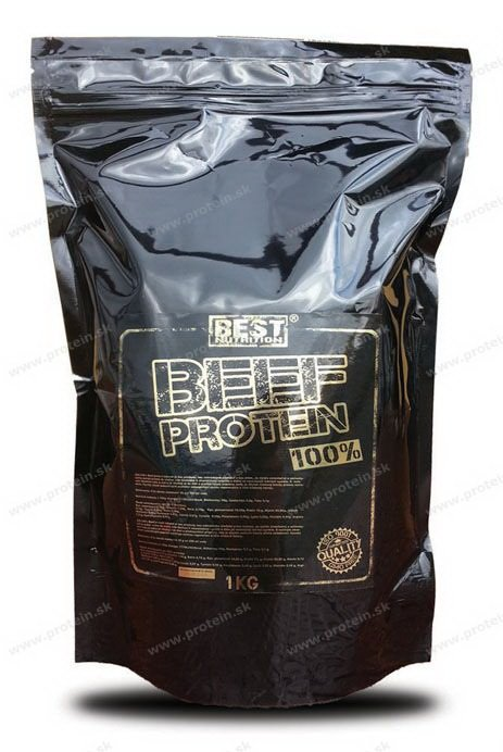 100 percent BEEF Protein od Best Nutrition 1000 g Neutral