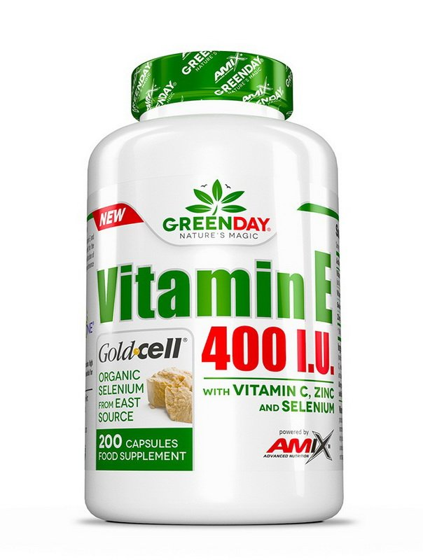 GreenDay Vitamin E 400 I.U. LIFE - Amix 200 kaps.
