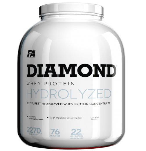Diamond Hydrolysed Whey Protein - Fitness Authority 2270 g Chocolate