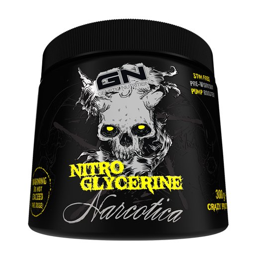 Narcotica Nitro Glycerine - GN Laboratories  300 g Crazy Fruits