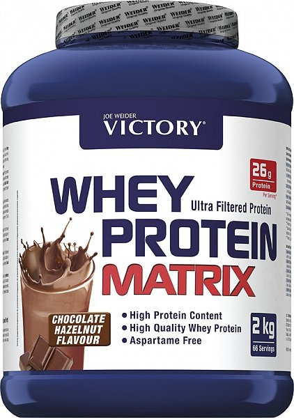 Whey Protein Matrix - Weider 2000 g Chocolate Hazelnut