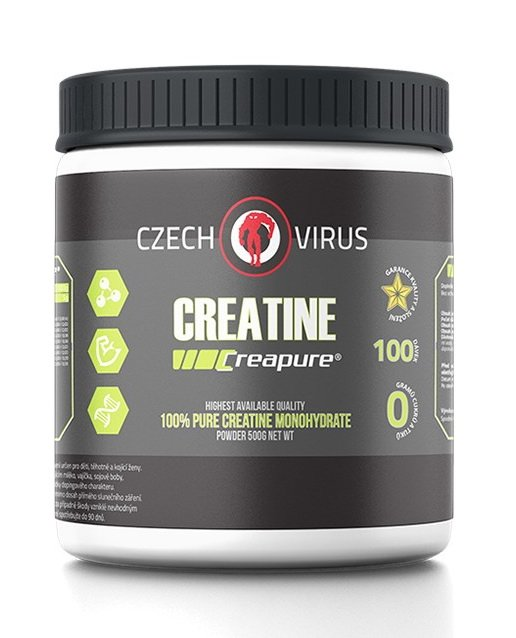Creatine Creapure - Czech Virus 500 g