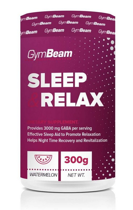 Sleep Relax - GymBeam 300 g Fruit Punch