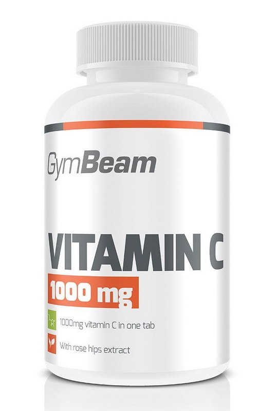 Vitamín C 1000 mg - GymBeam 30 tbl.