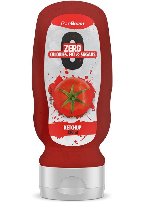 ZERO Ketchup - GymBeam 320 ml.