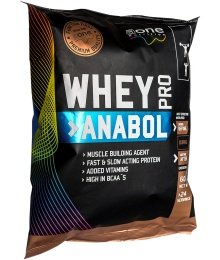 Whey Pro Anabol Refill Pack - Aone 600 g Banán