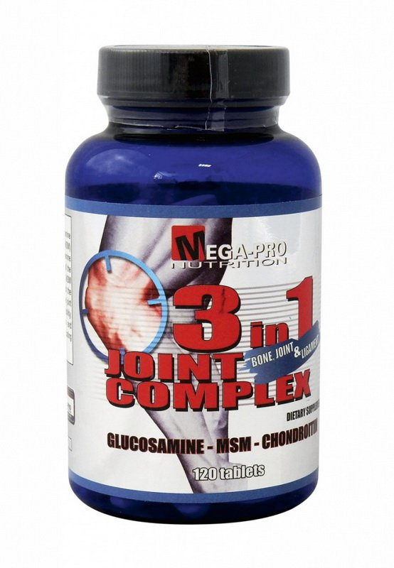 3 in 1 Joint Complex - Mega-Pro Nutrition 120 tabl.