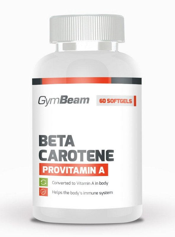 Beta Carotene - GymBeam  60 tbl.