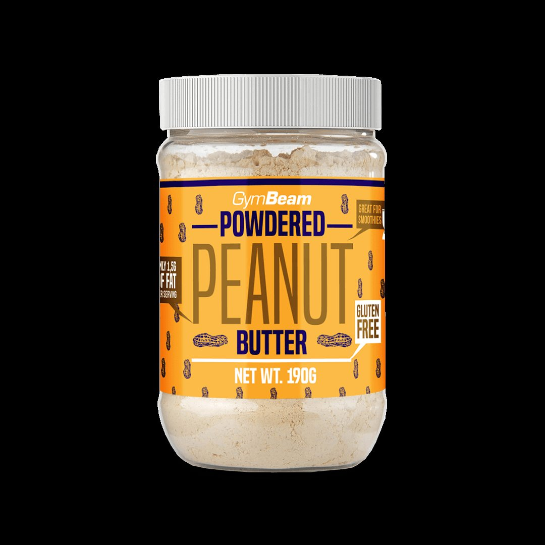 Powdered Peanut Butter - GymBeam  190 g