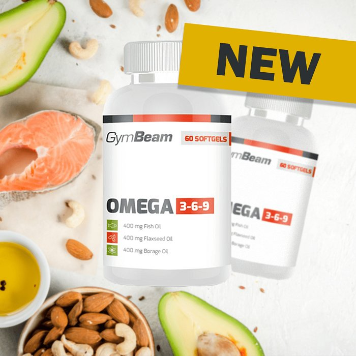 Omega 3-6-9 - GymBeam 120 softgels