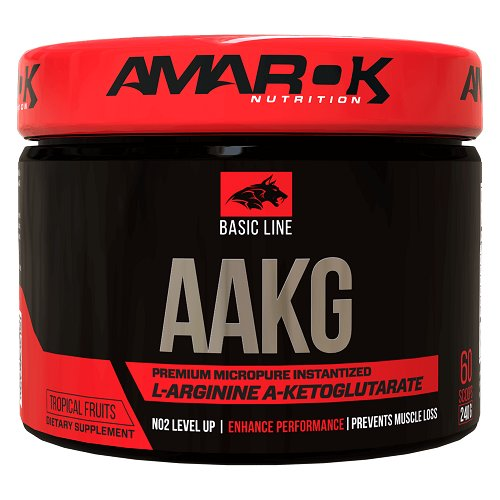 Basic Line AAKG - Amarok Nutrition 240 g Tropical