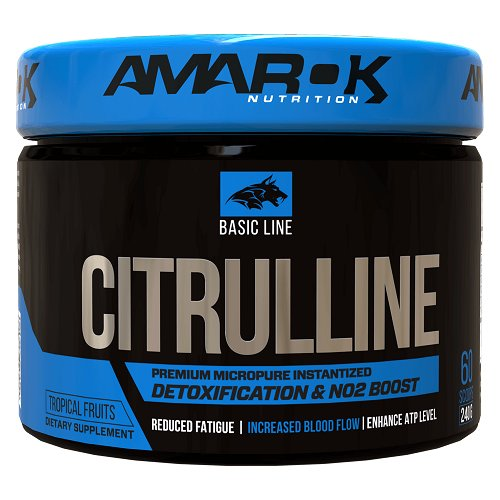 Basic Line CITRULLINE - Amarok Nutrition  240 g Tropical