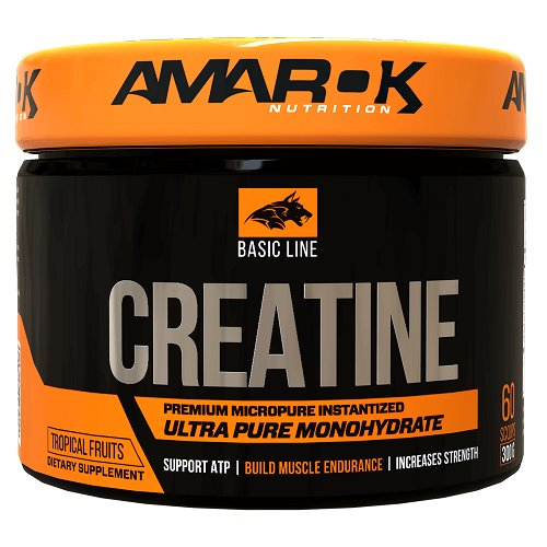 Basic Line CREATINE - Amarok Nutrition  300 g Tropical