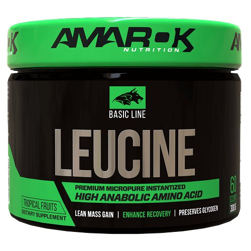 Basic Line LEUCINE - Amarok Nutrition 300 g Tropical
