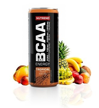 BCAA Energy Drink - Nutrend 330 ml. CitrusAcai