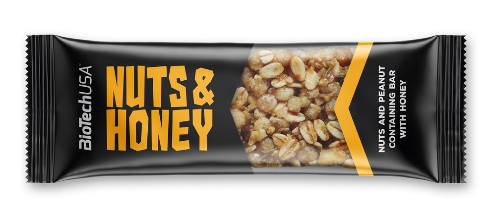 Nuts and Honey - Biotech USA 35 g