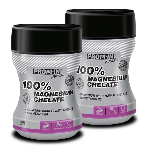 100 Magnesium Chelate 11 Zadarmo - Prom-IN 416 g  416 g Grep