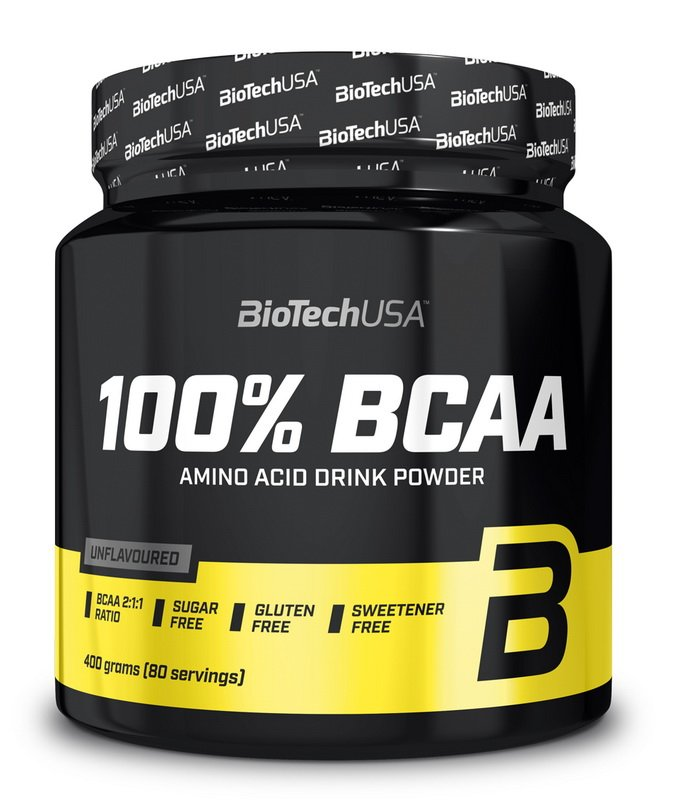 100 percent BCAA - Biotech USA 400 g Neutral
