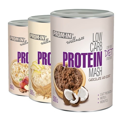 11 Zadarmo: Low Carb Protein Mash - Prom-IN 500 g  500 g AppleCinamon