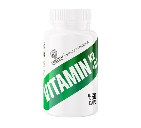 Vitamin K2  D3 - Swedish Supplements 60 kaps.