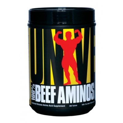 100 Beef Aminos - Universal Nutrition 200 tbl.