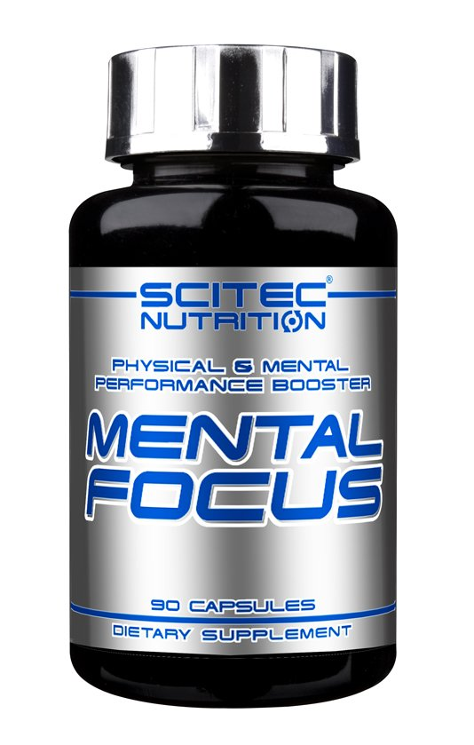 Mental Focus - Scitec Nutrition 90 kaps.