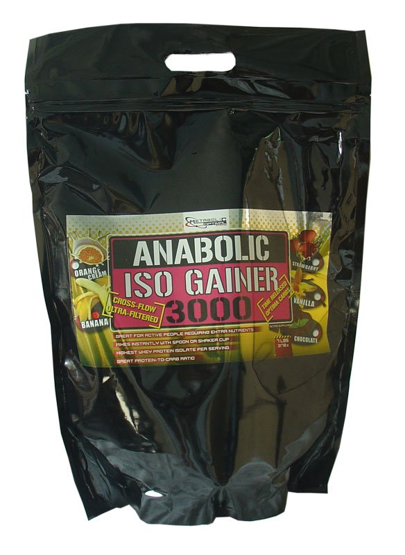 Anabolic Iso Gainer 3000 - Metabolic Optimal Nutrition 3170 g sáčok Banán