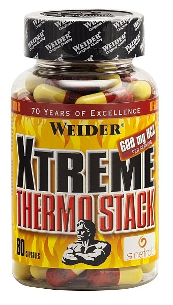 Xtreme Thermo Stack - Weider 80 kaps.