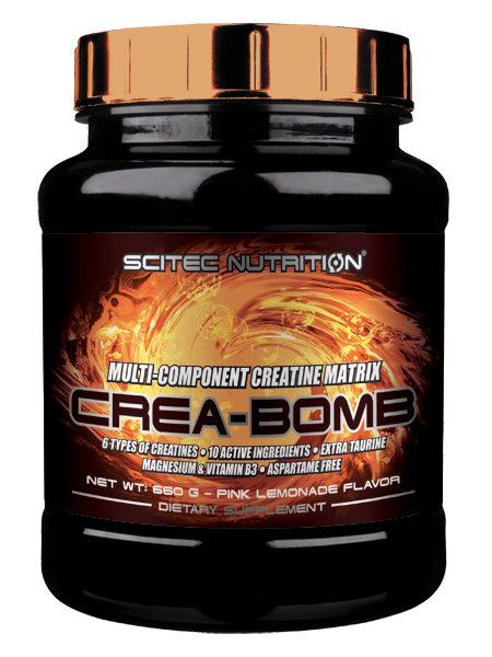 Crea-Bomb - Scitec Nutrition 25 x 12 g Passion Fruit