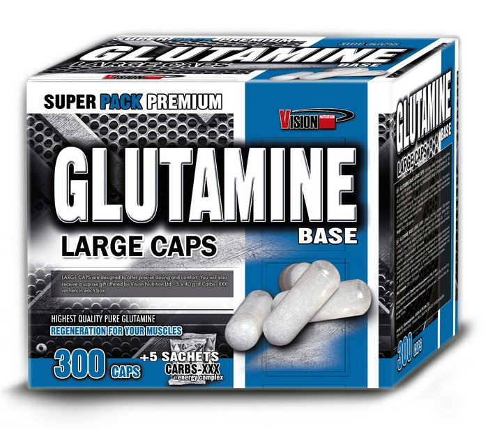 Glutamine Base od Vision Nutrition 100 kaps.