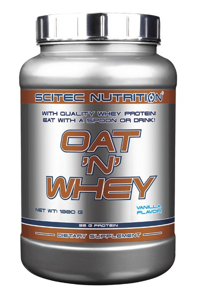 Oat ´N´ Whey - Scitec Nutrition 12 x 92 g Box Jahoda