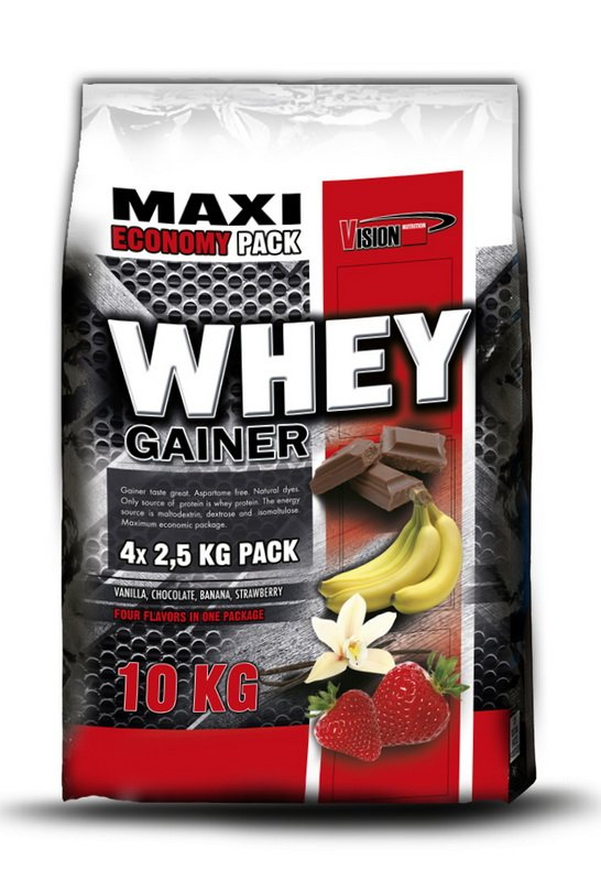 Whey Gainer od Vision Nutrition 10 kg MIX