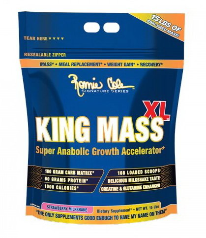 King Mass XL - Ronnie Coleman 6750 g Strawberry Milk Shake