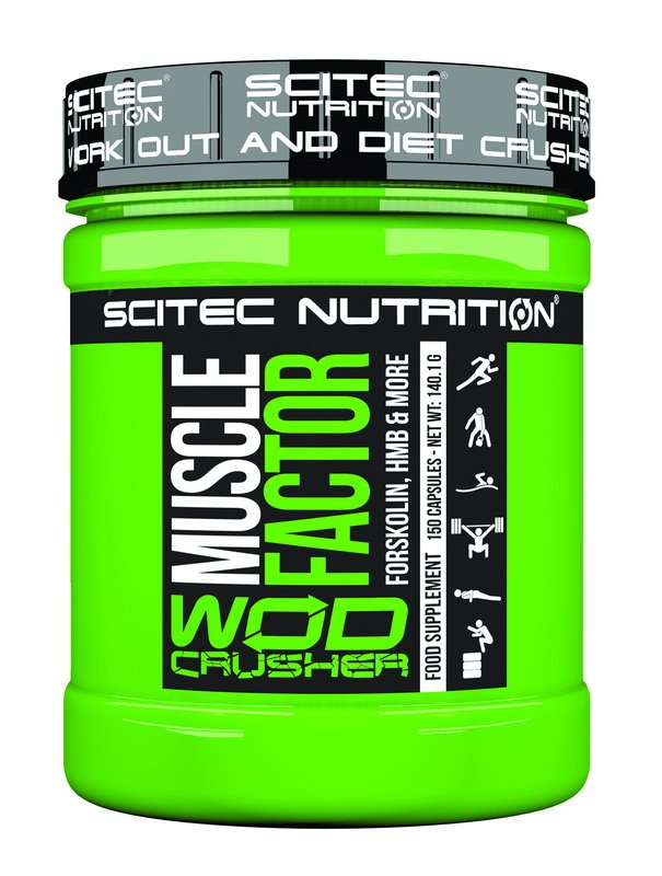 Wod Crusher MUSCLE FACTOR - Scitec Nutrition 150 kaps.