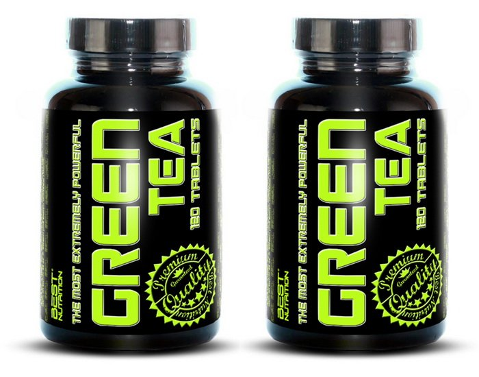 11 Zadarmo: Green Tea od Best Nutrition 120 tbl.  120 tbl.